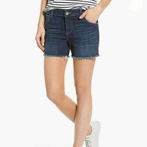 Kut from the Kloth Jeans GIDGET Fray Short NWT